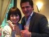 竹内力さん(サイズ大)2011年11月福冨莉袈ディナーショーにゲストでお越し頂きました♫
